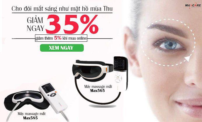 banner massage mắt