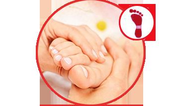 Massage mu bàn chân