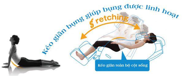 ghế massage s373d linh hoạt