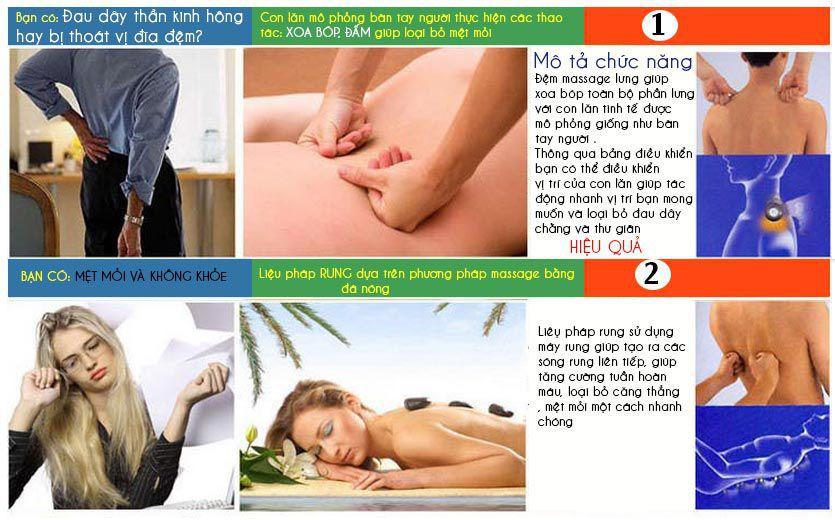 Các lý do bạn nên sử dụng đệm massage lưng cổ gáy max635 plus