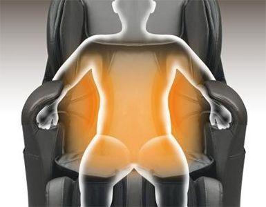 massage nhiệt lưng