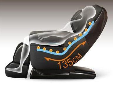 Con lăn hình chữ L của ghế massage toàn thân Maxcare Max686