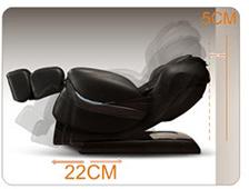 Không khoảng cách với tường của ghế massage maxcare max684