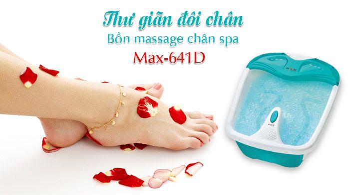 Max641D massage trị liệu
