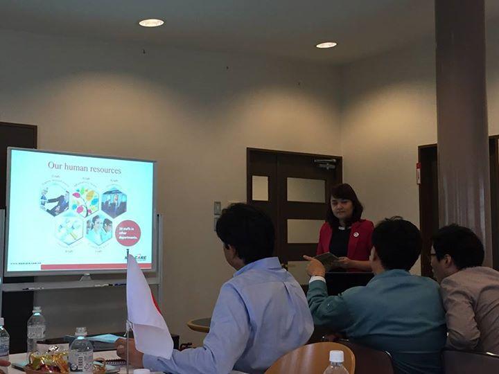 Nhà phân phối Việt Nam báo cáo kết quả năm 2014 và chiến lược phát triển năm 2015 của